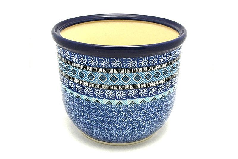 Ceramika Artystyczna Polish Pottery Utensil Planter - Aztec Sky 192-1917a (Ceramika Artystyczna)