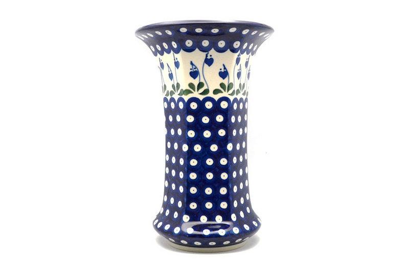 Ceramika Artystyczna Polish Pottery Vase - Large - Bleeding Heart 052-377o (Ceramika Artystyczna)