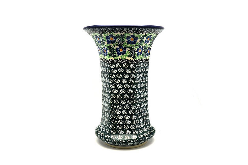 Ceramika Artystyczna Polish Pottery Vase - Large - Sweet Violet 052-1538a (Ceramika Artystyczna)