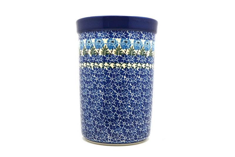 Ceramika Artystyczna Polish Pottery Wine Crock - Antique Rose 169-1390a (Ceramika Artystyczna)