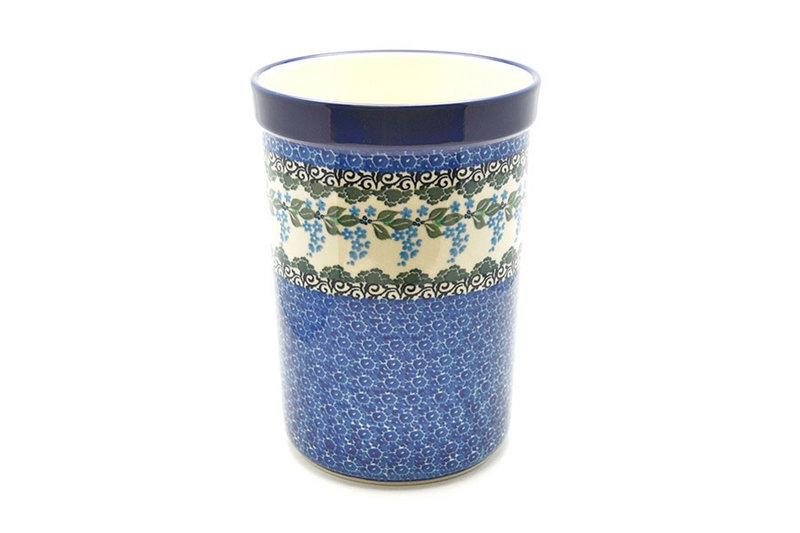 Ceramika Artystyczna Polish Pottery Wine Crock - Wisteria 169-1473a (Ceramika Artystyczna)