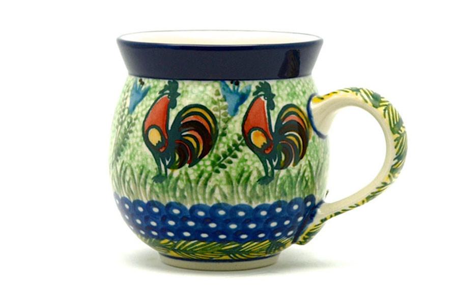Polish Pottery Mug - 11 oz. Bubble - Unikat Signature U2663 070-U2663