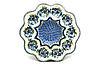 Ceramika Artystyczna Polish Pottery Egg Plate - 10 Count - Winter Viola
