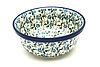 Ceramika Artystyczna Polish Pottery Bowl - Soup and Salad - Forget-Me-Knot