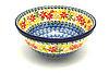 """Ceramika Artystyczna Polish Pottery Bowl - Large Nesting (7 1/2"""") - Maple Harvest"""