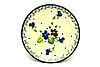 Ceramika Artystyczna Polish Pottery Coaster - Plum Luck