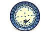 "Ceramika Artystyczna Polish Pottery Plate - Bread & Butter (6 1/4"") - Bluebird"