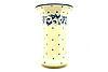 Ceramika Artystyczna Polish Pottery Vase - Large - White Poppy