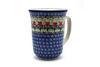 Ceramika Artystyczna Polish Pottery Mug - 16 oz. Bistro - Maraschino