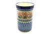 Ceramika Artystyczna Polish Pottery Wine Crock - Crimson Bells