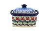Ceramika Artystyczna Polish Pottery Cake Box - Small - Maraschino