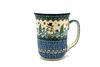 Ceramika Artystyczna Polish Pottery Mug - 16 oz. Bistro - Unikat Signature U4661