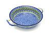 Ceramika Artystyczna Polish Pottery Baker - Round with Handles - Medium - Tranquility