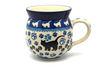 Ceramika Artystyczna Polish Pottery Mug - 11 oz. Bubble - Boo Boo Kitty