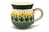 Ceramika Artystyczna Polish Pottery Mug - 11 oz. Bubble - Daffodil
