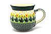 Ceramika Artystyczna Polish Pottery Mug - 15 oz. Bubble - Daffodil