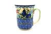 Ceramika Artystyczna Polish Pottery Mug - 16 oz. Bistro - Unikat Signature U4600