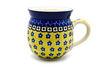 Ceramika Artystyczna Polish Pottery Mug - 11 oz. Bubble - Sunburst