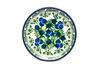 Ceramika Artystyczna Polish Pottery Coaster - Huckleberry
