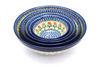 Ceramika Artystyczna Polish Pottery Nesting Bowl Set - Maraschino
