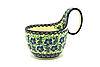 Ceramika Artystyczna Polish Pottery Loop Handle Bowl - Sweet Violet