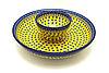Ceramika Artystyczna Polish Pottery Chip & Dip Set - Sunburst