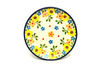 Ceramika Artystyczna Polish Pottery Coaster - Buttercup