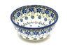Ceramika Artystyczna Polish Pottery Bowl - Ice Cream/Dessert - Silver Lace