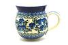 Ceramika Artystyczna Polish Pottery Mug - 11 oz. Bubble - Winter Viola