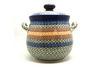 Ceramika Artystyczna Polish Pottery Cookie Jar - 14 cups - Autumn