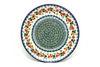"Ceramika Artystyczna Polish Pottery Plate - 10"" Dinner - Cherry Blossom"