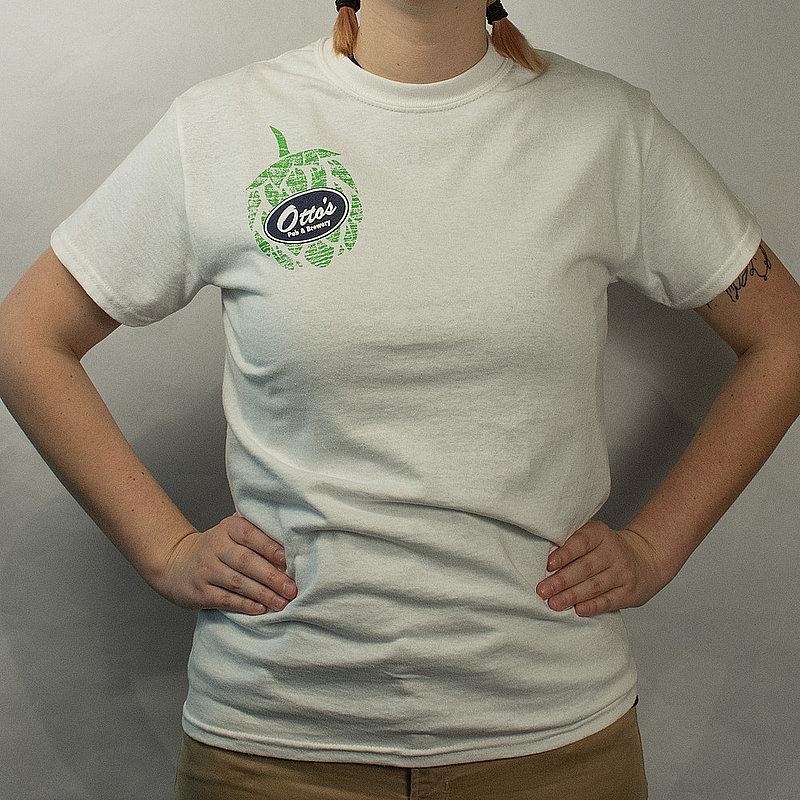 Hop Logo Tee - White