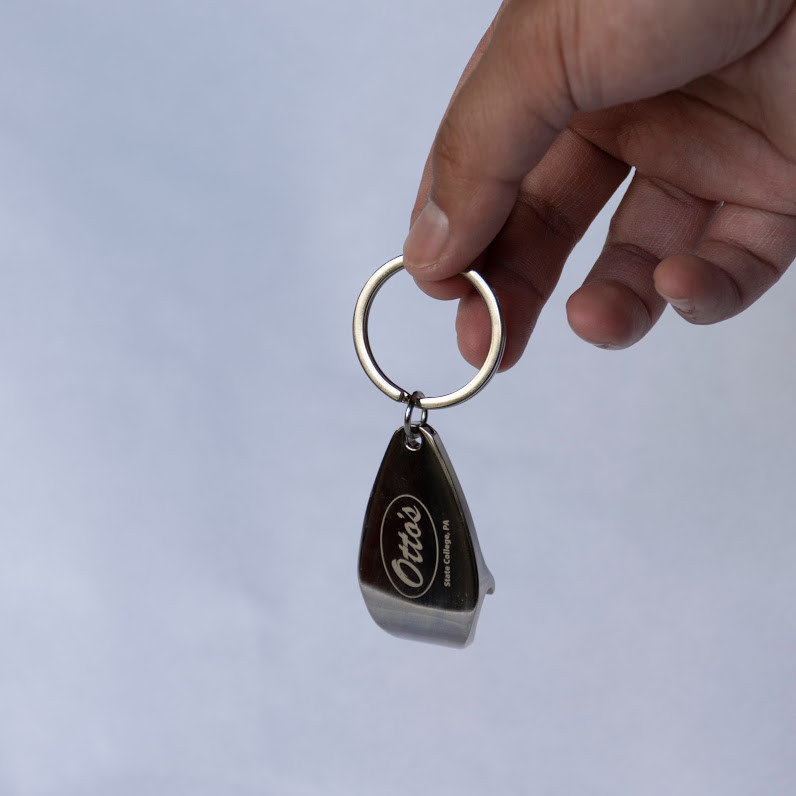 Otto's Bottle & Can Opener Keychain