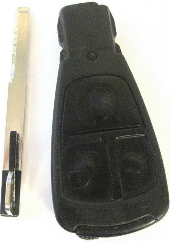 Mercedes FCC ID IYZ3302 keyless remote entry infared car key fob