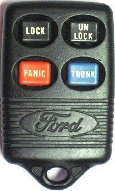 OEM Ford Keyless Entry Remote Transmitter GQ43VT4T 3165189 with Lincoln logo