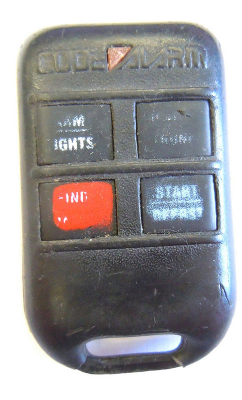 Code Alarm Red Led 4 Button Fcc Id  Goh