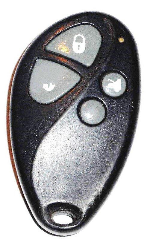 Code Alarm 4 Button Red Led Light Fcc Id Elvatdb Diytx