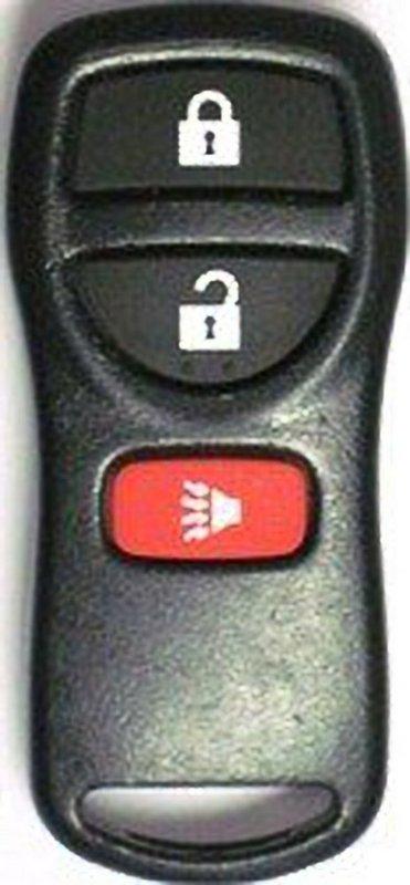 Oem Nissan Infiniti 3 Button Fcc Id Kbrastu15 Keyless