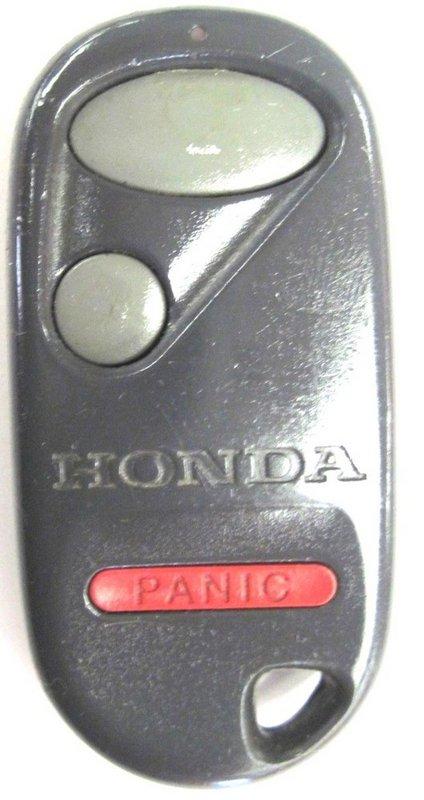 honda keyless remote civic  car key fob    control clicker pre owned faded bttns
