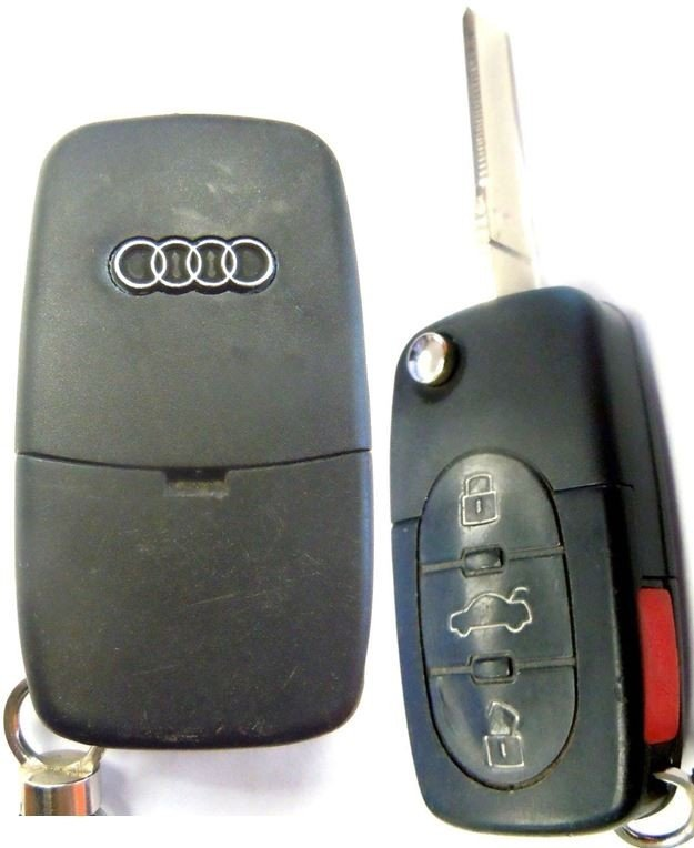 Pre Owned Audis: 1998 1999 2000 2001 Key Fob Fits Audi A6 Remote Keyfob