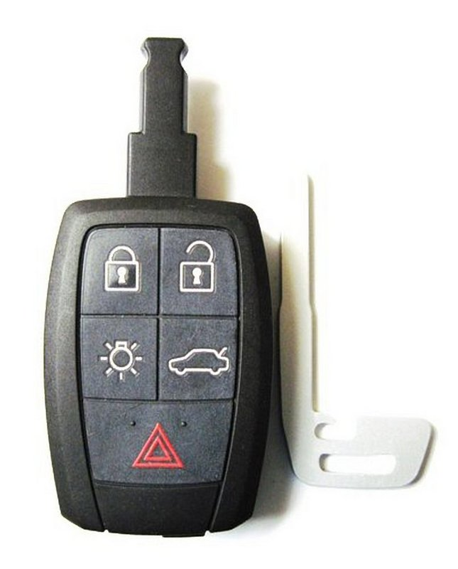 how to change a battery on volvo keyless remote