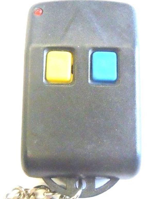 garage door opener remote keychain. Garage Door Opener 2 Buttons Red Led Light Chip # AX5326S-3 Transmitter Security Alarm Remote Keychain R