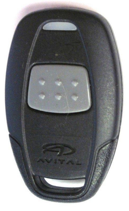 Avital Fcc Id Ezsdei7111 Keyless Remote Starter Green Led 1 Button