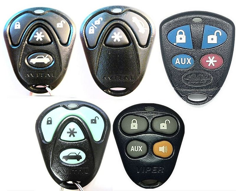 BATTERY REPLACEMENT FOR A AVITAL DEI VIPER KEYLESS REMOTE ENTRY FOB EZSDEI474S