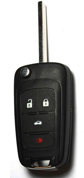 OEM BUICK Flip Key Fob SWITCHBLADE Remote Transmitter 13500227