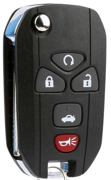 New Keyless Entry Remote Key Fob w// Remote Start For a 2008 Chevrolet Malibu