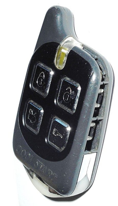 Crimestopper 4button Remote Start Keyless Entry Nos Ebay