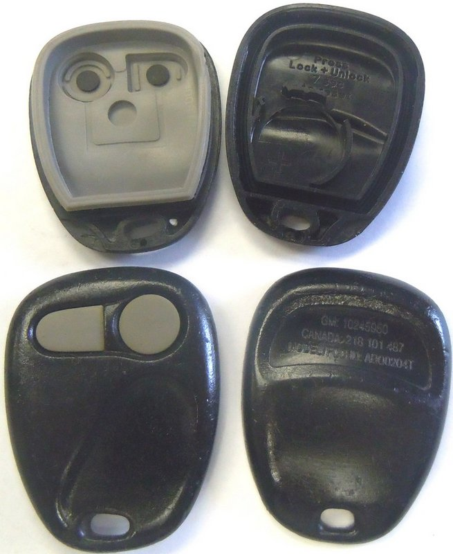 GM 12495653 EZSOEMTX 4 Button  Remote Transmitter