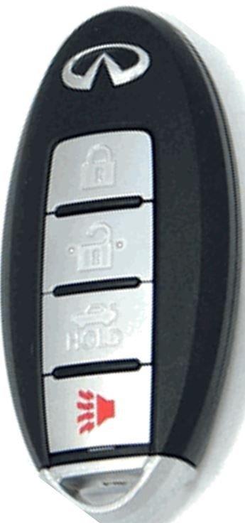 2015 Infiniti Q50 keyless remote smart key fob transmitter