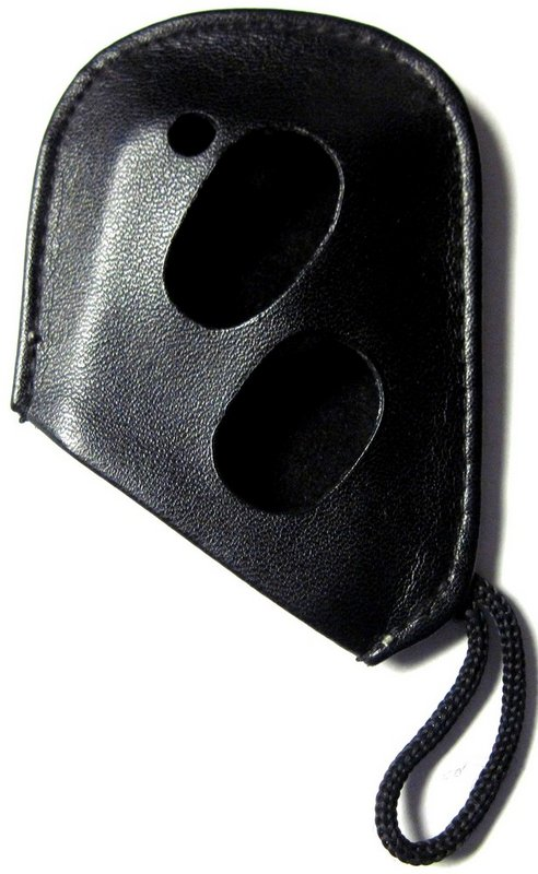 Black Leather Protective Case Cover Smart Remote OEM 4 Button w Logo For Lexus